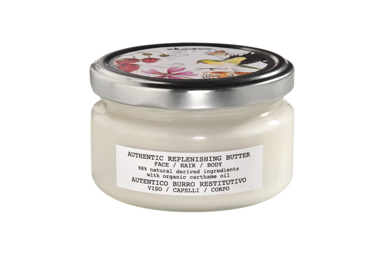 DAVINES Authentic Replenishing Butter - krem do twarzy, włosów i ciała 200 ml