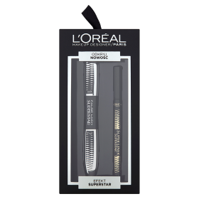 Loreal Zestaw False lash SUPERSTAR maskara + Superliner Superstar czarny