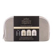 JOHN MASTERS ORGANICS ESSENTIAL TRAVEL KIT FOR HAIR and BODY - zestaw do włosów i ciała