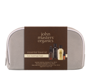 JOHN MASTERS ORGANICS ESSENTIAL TRAVEL KIT FOR NORMAL HAIR - zestaw do włosów normalnych