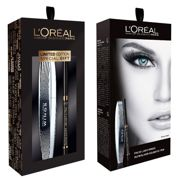 Loreal Zestaw False Lash Wings Tusz do rzęs + Superliner Gelmatic Kredka do oczu