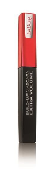 ISADORA BUILD-UP MASCARA EXTRA VOLUME 01 SUPERBLACK -tusz d/rzęs 12 ml