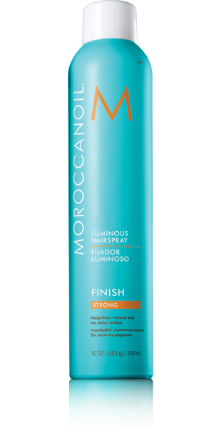MOROCCANOIL FINISH - lakier do włosów strong 330 ml