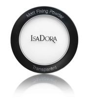 ISADORA MATT FIXING POWDER TRANSPARENT 00 TRANSPARENT - matujący puder transparentny 9g