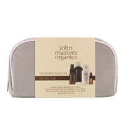 JOHN MASTERS ORGANICS ESSENTIAL TRAVEL KIT FOR DRY HAIR - zestaw do włosów suchych