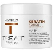 MONTIBELLO KERATIN FORCE MASK - maska termoochronna 500 ml